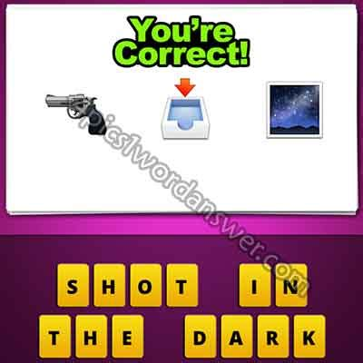 film disc letter mailbox emoji guess the emoji gun box tray in night 4 pics 1 word game