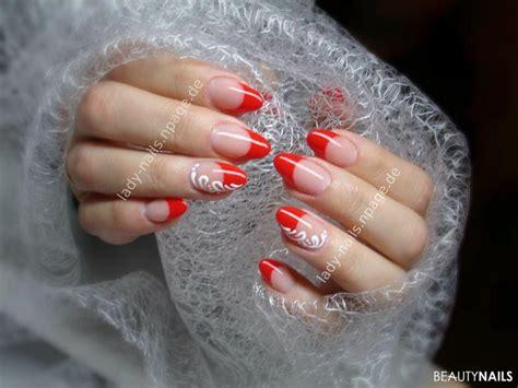 Nails Rot 4717 nails rot rote n gel f e mit nagellack gel