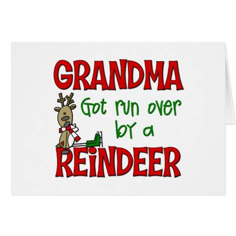 Nana Gift Card - grandma got run over gifts t shirts art posters other gift ideas zazzle