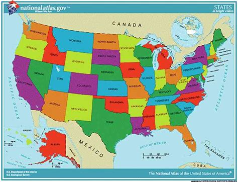 us state map not labeled state labeled map of the us map of the united states