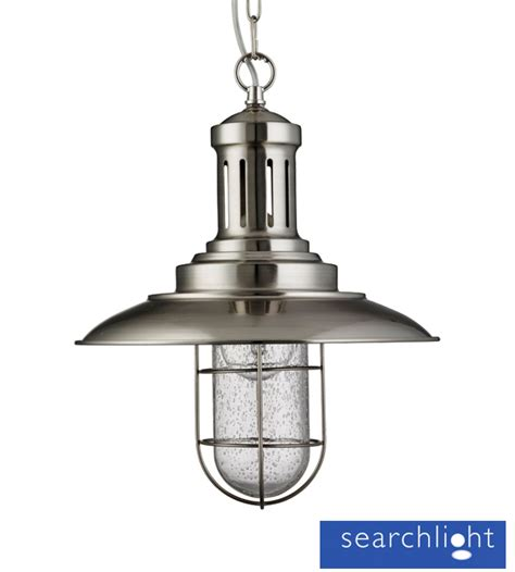 Searchlight Fisherman 1 Light Ceiling Pendant Light Fishermans Pendant Light