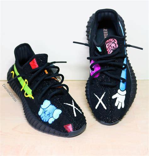 shoes like yeezy tenisufki eu kaws x adidas yeezy boost 350 v2 custom