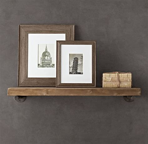 reclaimed wood wall shelf storefront home inspiration