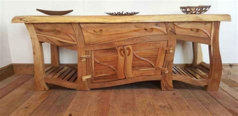 Wood Handmade Furniture - rustic wooden furniture jwf designs