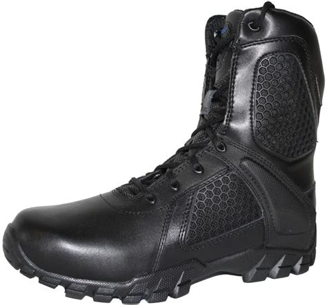 Sepatu Boot Tactical Unitewin 8in bates 7008 mens 8 inch strike side zip waterproof tactical boot boots plus more