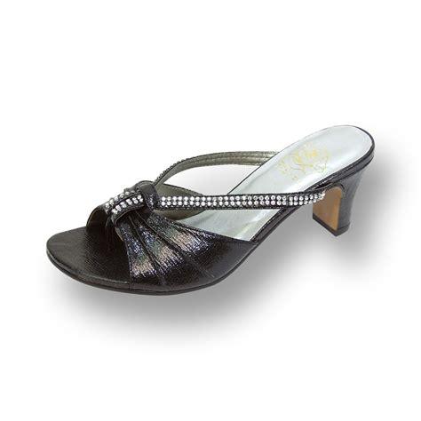 dress sandals wide width footwearus fic floral chrissy wide width shiny