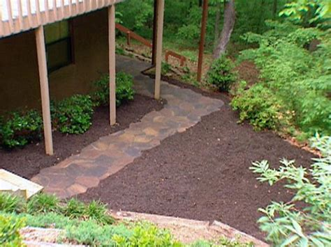 affordable garden path ideas the family handyman backyard pathway cheap how to build a stone path the