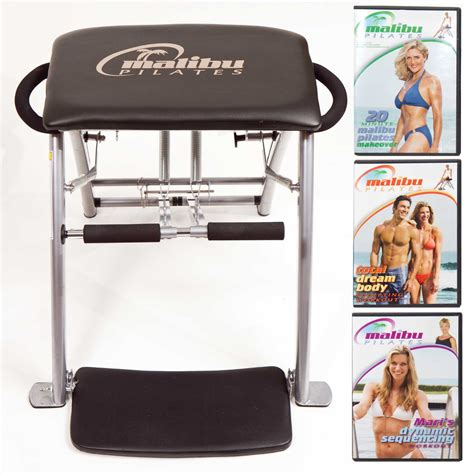 malibu pilates chair malibu pilates chair with 3 workout dvds review pilates