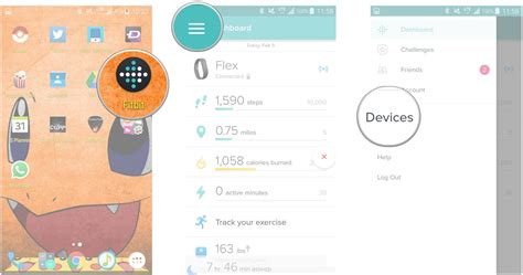 how to connect fitbit to android how to add replace and delete trackers in the fitbit app android central