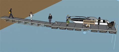 floating dock sections floating boat docks rollingbarge com