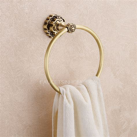 Vintage Style Antique Shower Bathroom Shower Set Bronze Shower Mixer Blue And White Porcelain European Style Antique Bronze Bathroom Towel Rings
