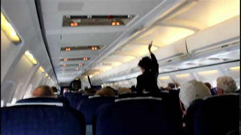 Airplane Cabin by Spraying Pesticides On Passengers Inside An Aircraft Cabin