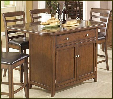 kitchen island storage table small kitchen tables with storage home design ideas