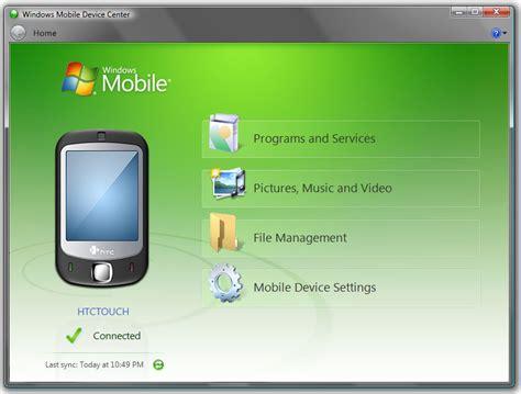 mobile device center windows mobile device center 6 1 6965 0 windows 64 bit