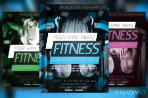 Fitness Flyer Templates by Fitness Flyer Template Flyer Templates On Creative Market