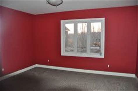 painting a room red how interior paint color choices affect mood