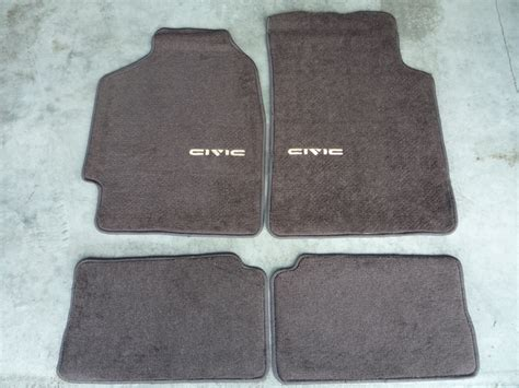 10 civic si floor mats 88 91 civic bnib floormats speaker pods ef9 ef8 crx