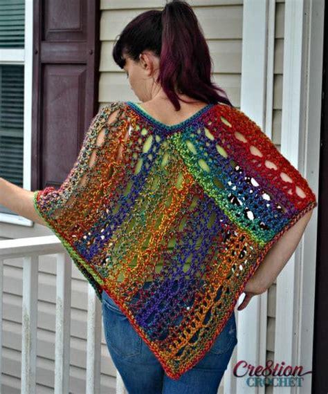 crochet poncho pattern free pinterest unique lace poncho cre8tion crochet
