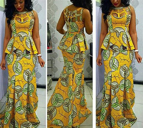 African Kitenge Wedding Dresses   newhairstylesformen2014.com