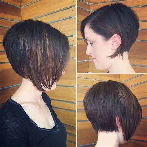 how to cut a disconnect bob haircut bob haircut disconnected bob hair by kas pinterest