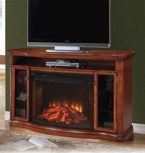 62 electric fireplace 62 1 quot alpine media burnished pecan electric fireplace