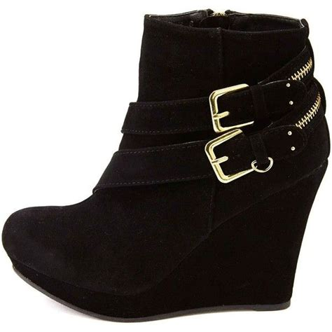 best 25 black wedge ankle boots ideas on