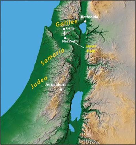 Wedding At Cana Discussion Questions by Map Of Israel 7 Neverthirsty