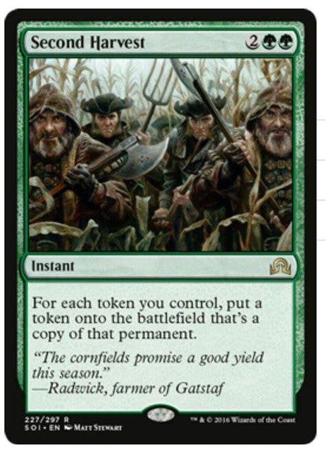 mtg cards that make tokens standard green white tokens mtg amino