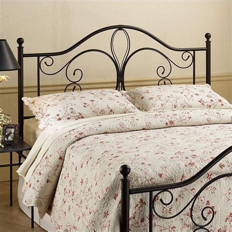 old metal headboards milwaukee metal headboard in dark brown antique finish