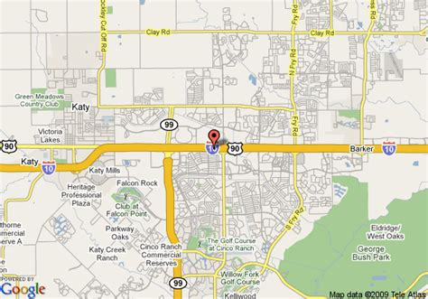 where is katy texas in the map map of hton inn suites houston katy tx katy