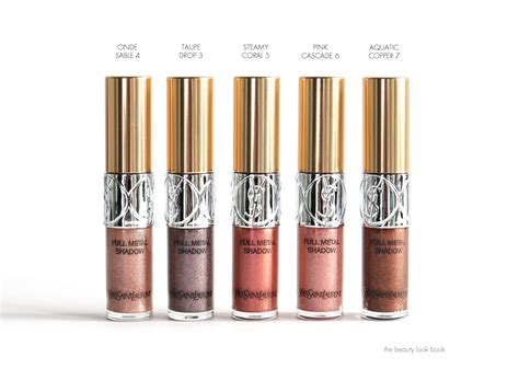 Eyeshadow Ysl yves laurent eye makeup pop water collection