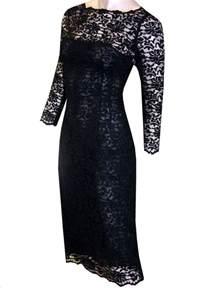 lace dress fashionista 06340 black lace dress