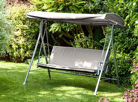 ebay swing seat replacement canopy cushion for argos malibu 3 seater