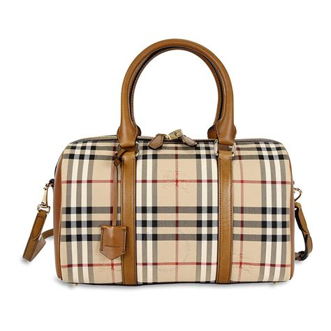 Burberry Bag burberry medium alchester horseferry check bowling bag