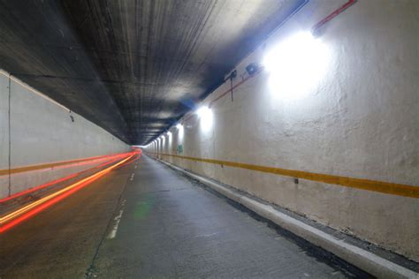 Filipino Drivers See Solar Light At The End Of The Solar Tunnel Lighting