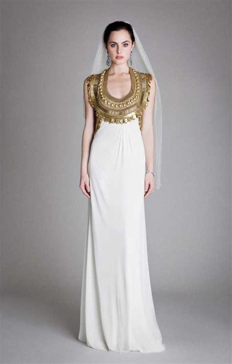 Gold Wedding Dresses Uk by Gold Wedding Dresses Chwv