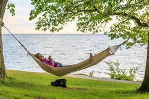 Relaxing File Relaxing In The Hammock By The Sea Near Almedalen Jpg