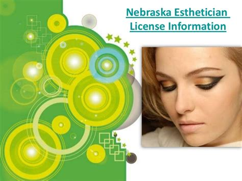 nebraska esthetician license information