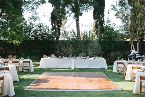 backyard wedding dance floor thinking about having a backyard wedding here are some