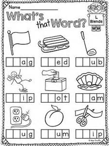 l blends worksheets and activities words student and
