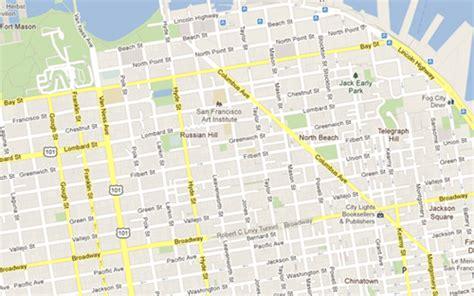san francisco neighborhood map russian hill san francisco map lombard