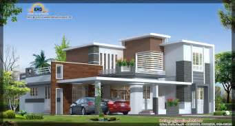 Contemporary house elevation 273 square meter 2942 sq ft