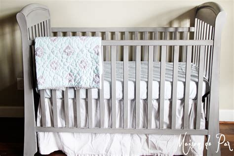 Distressed Gray Crib Distressed Crib Tutorial Guest Post Country Chic Paint