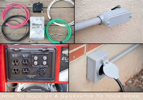 how to hook up a generator to your home electrical