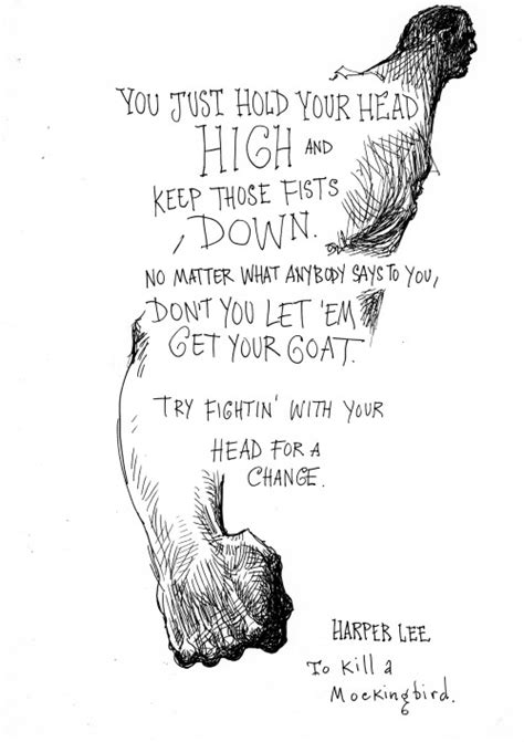 to kill a mockingbird family theme quotes chris riddell sketch harper lee quote from to kill a