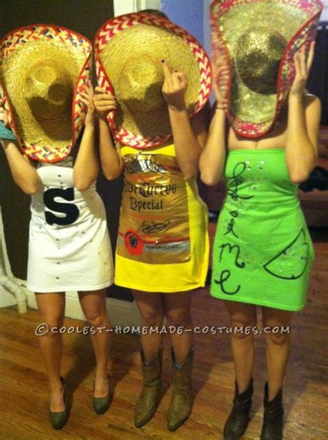 tequila   clothes fall  group costume salt