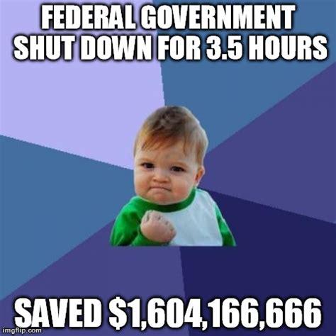 Shut Down Meme - success kid meme imgflip