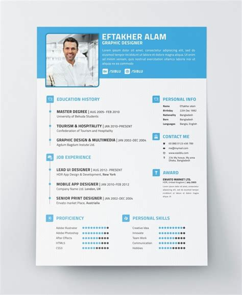 modern cv template our 5 favorite resume templates best 25 professional resume template ideas