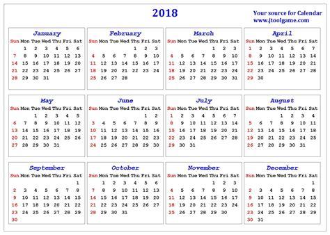 printable calendar 2018 large numbers week numbers calendar 2018 resumess zigy co