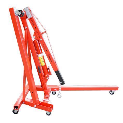 Engine Crane 2 Ton Limited foxhunter 2 ton hydraulic folding engine crane stand hoist lift wheel